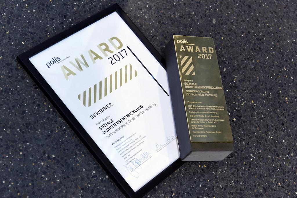polis Award • Award für Stadt- und Immobilienentwicklung 2018
